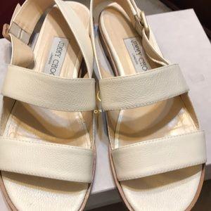 Flat Jimmy Choo shoes